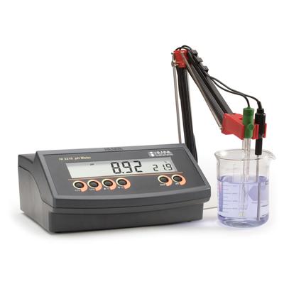 HI2210-02 Máy đo pH/Nhiệt Độ để bàn | Hanna Instruments Việt Nam